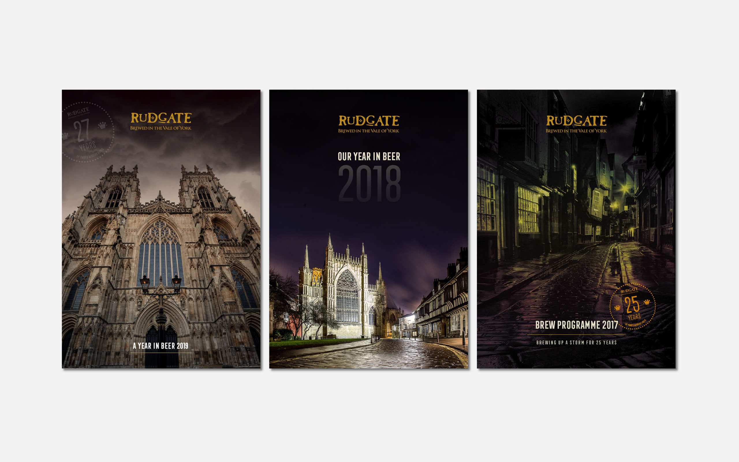 3 Rudgate Brew Programmes