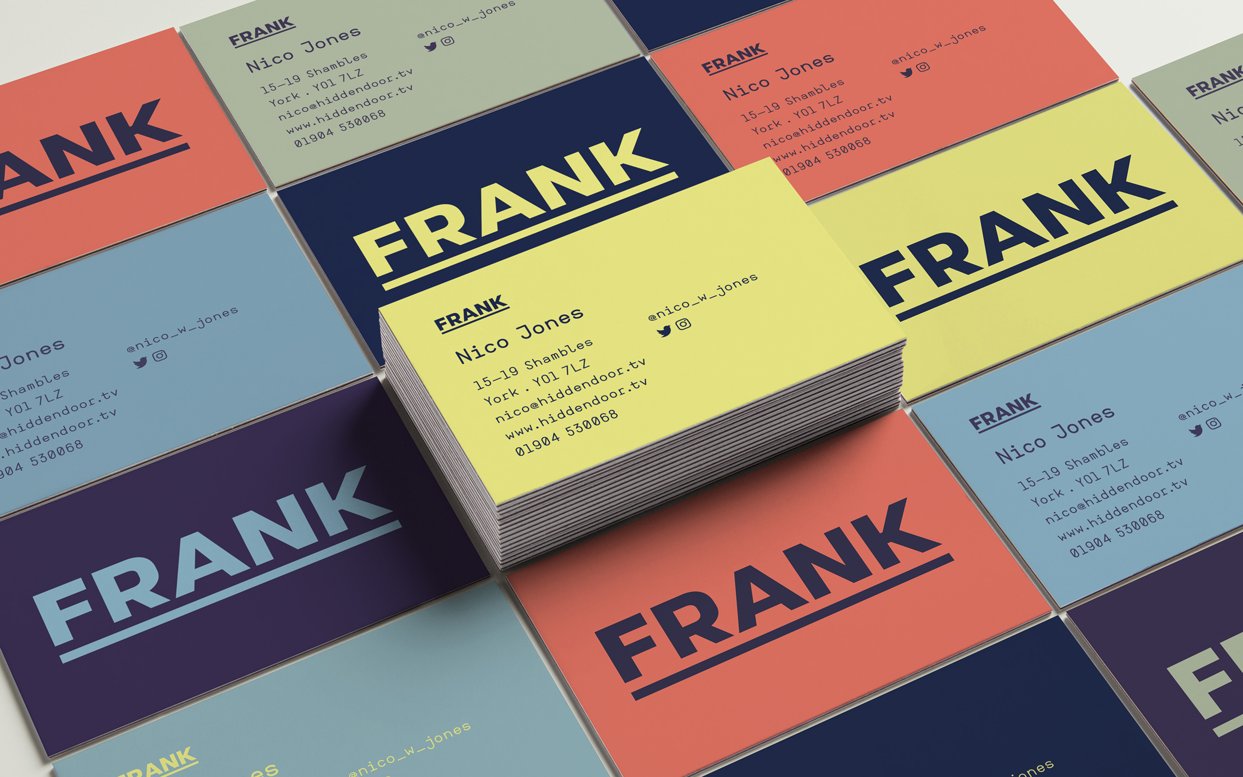 Frank Business Cards