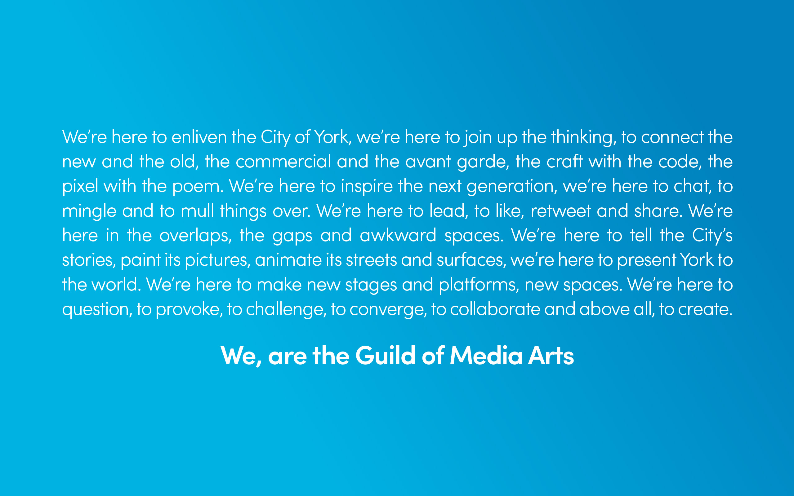 Guild of Media Arts