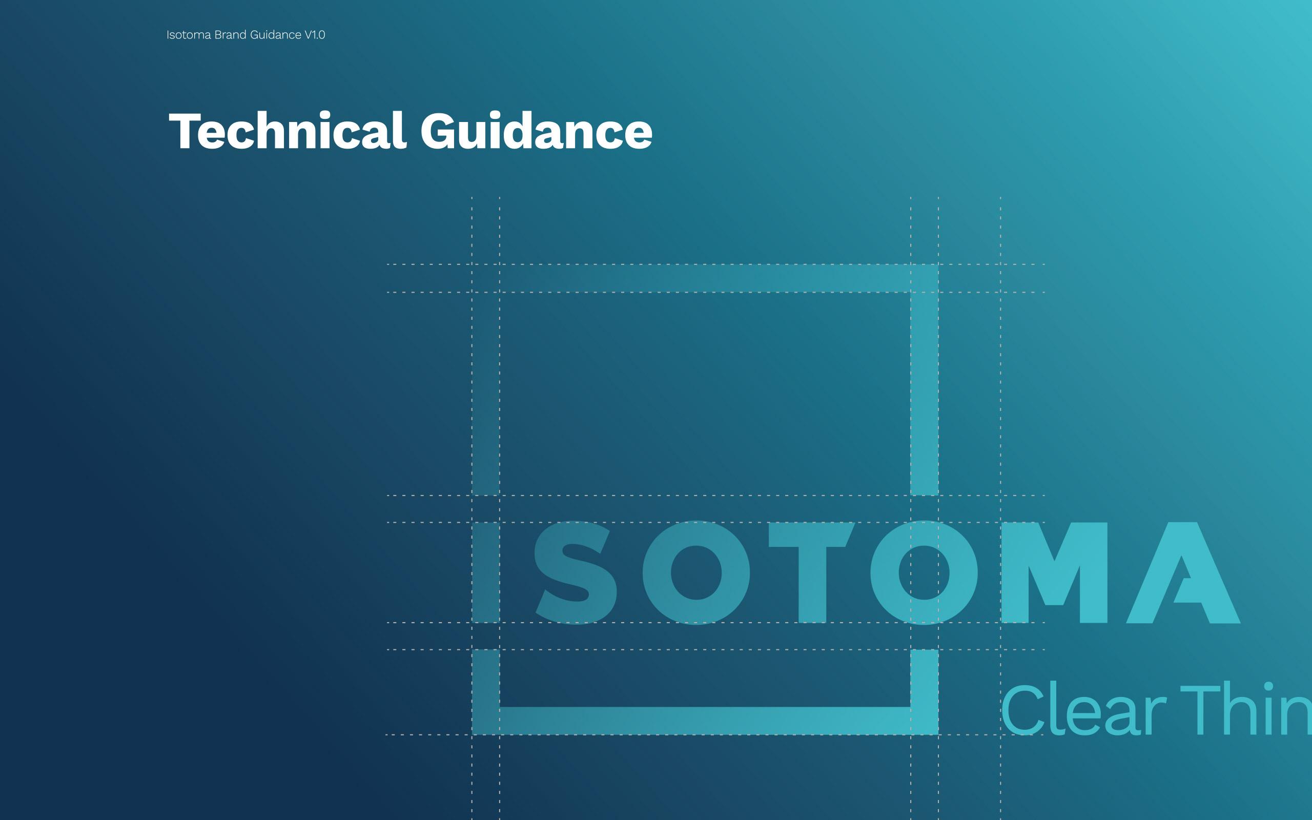 Isotoma logo guidance