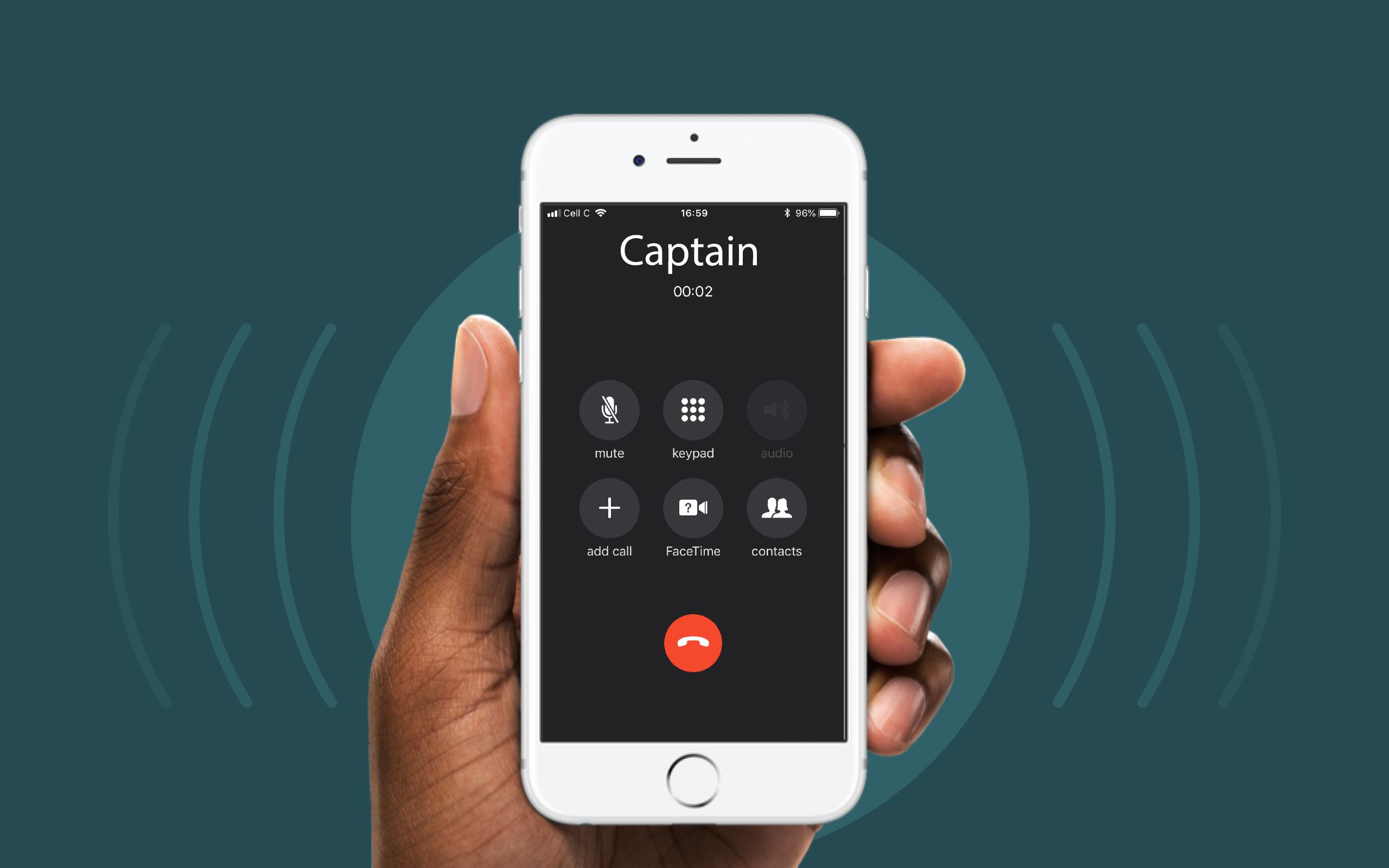 Captain will call you